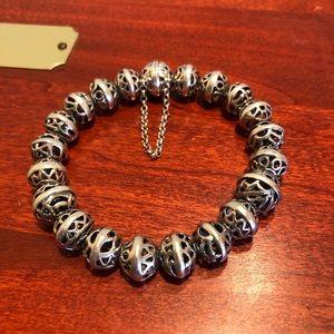 Silpada Sterling Silver Hemisphere Bracelet B2905